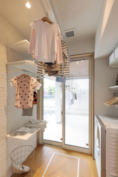 Washroom Design, Laundry Room Design, Minimal Home, Minimalist Home Decor, Dirty Kitchen Design, Small Home Gyms, Study Room Decor, Laundry Room Inspiration, My House Plans