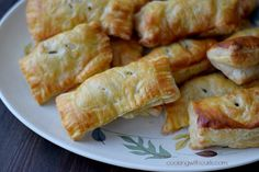 Pork sausage mixed with sage and wrapped in puff pastry make these Traditional Sausage Rolls the perfect appetizer for any occasion.