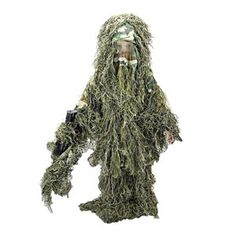 Picture of Kids Woodland Camo Ghillie Suit