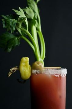 its all about bloody ceasars! clamato please!