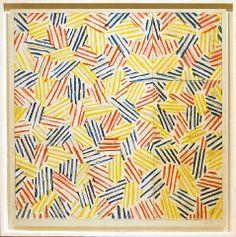 JASPER JOHNS http://www.widewalls.ch/artist/jasper-johns/ #contemporary #art
