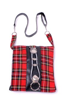 RED SCOTLAND  Handmade bag  by Mishonki