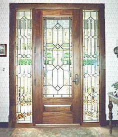S Bevelled Front Door Glass Designs