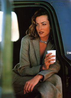 Tatjana Patitz - Vogue 1993