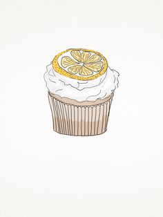 Lemon pastel cupcake. www.tobeme.com.pl
