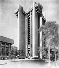 Paul Rudolph on penccil Paul Rudolph, Wellesley College, Philip Johnson, Walter Gropius, Sanibel Island, Postmodernism, In Boston, Art And Architecture, Arquitetura