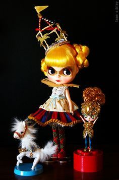 10th Anniversary Blythe exhibition by jamfancy, via Flickr