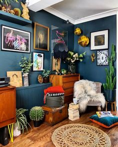 Amazing Wall Color Eclectic Decor Modern Vintage Hipster Home Diy