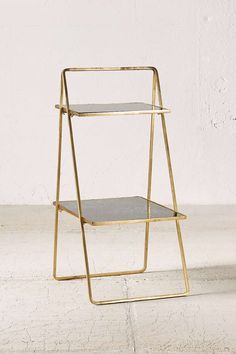 Plum & Bow Zoe Two-Tiered Stand - Urban Outfitters Urban Outfitters, Planting For Kids, Tiered Stand, Bedroom Plants, Cool Plants, Low Lights, Glass Shelves, Modern Minimalist, Home And Living