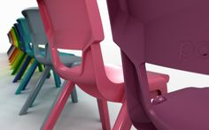 Postura Chairs - Back View