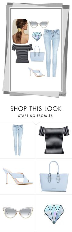 """Untitled #20"" by emina-ahmetovic ❤ liked on Polyvore featuring J Brand, Miss Selfridge, ALEXA WAGNER, Armani Jeans and Unicorn Lashes"