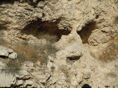 View of the place of the Skull from the Garden Tomb