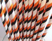 25 Striped Straws $4.25