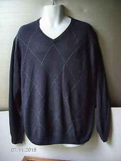 3d2a445adf4 Geoffrey Beene V-Neck Regular Size XL Sweaters for Men