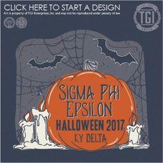 Sigma Phi Epsilon | SigEp | ΣΦΕ | Halloween | Date Party | Mixer | Function | TGI Greek | Greek Apparel | Custom Apparel | Fraternity Tee Shirts | Fraternity T-shirts | Custom T-Shirts