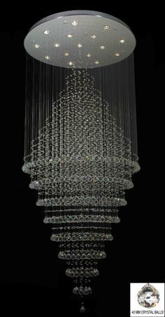 Crystal chandeliers repined by belladonnasluxurydesigns via ccc modern contemporary chandelier rain drop chandeliers h w ov mozeypictures Choice Image