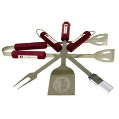 #Redskins grill set - so everyone at the BBQ knows for whom you cheer. #HTTR #LiveIt