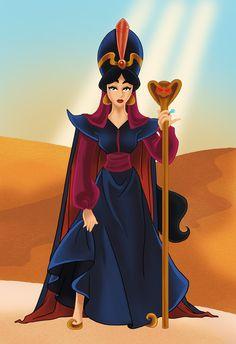 Jasmine as Jafar by Paola Tosca