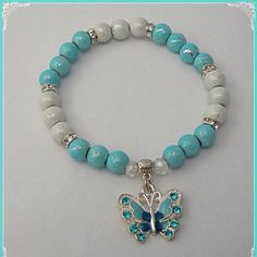 Butterfly, antibullying awareness, www.hopeinbracelets.com