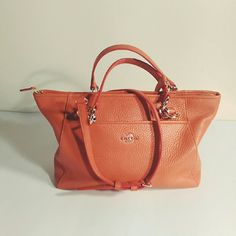 Last chance❗Coach Mini Ellis Tote Simple and sophisticated  pebble leather bag. Size: 13 in. (L)  x 7 3/4in.(H) x 4(W). It comes with a detachable shoulder strap. It is very lightweight!  No trades! Brand new and in perfect condition. I bought it with tag in one of the pockets. It has never left my closet. Price is firm. Coach Bags