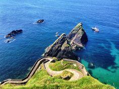 Die Westküste in Irland besuchen.