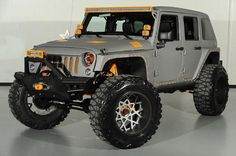 2014 Starwood Custom Kevlar Jeep Wrangler Unlimited SEMA Build #jeep