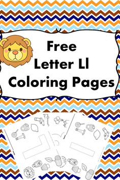 Preschool or Kindergarten Activity:   Letter L Activity - Coloring Pages:  Free!   OR...if you prefer, just get a download of the entire alphabet for free.