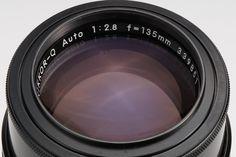 Nikon Nikkor-Q AUTO 135mm 2.8 Middle Telephoto prime lens pre Ai lens
