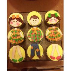 Cupcakes fofos para o São João!
