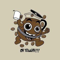 Kool-Aid man on coffee