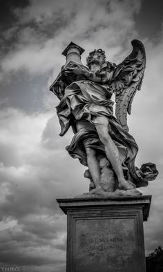 Estatua Romana. Abril 2014.
