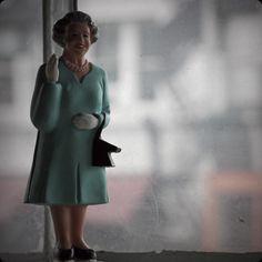 "Why is it whenever I imagine Queen Elizabeth speaking, I hear one of those Monty Python posh lady voices in my head? ""Helllloooooooooooo!"""