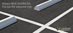 Replace broken parking blocks and re-stripe today. Asphalt Concrete, Parking Lot, Roads, Las Vegas, Construction, Building