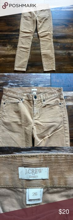 J crew factory skinny cords J crew factory, stretchy cords with 28 inseam J. Crew Factory Pants