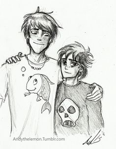 I love the idea of Percy and Nico actually forming a good friendship after Nico tells him.