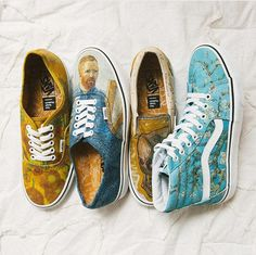 ee20859bdfb0 Vans x Vincent Van Gogh Authentic
