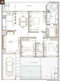 Αποτέλεσμα εικόνας για projeto arquitetonico de casas planta baixa 3 quartos