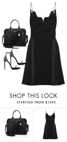 """""""Untitled#4145"""" by fashionnfacts ❤ liked on Polyvore featuring Alexander McQueen, Givenchy and Yves Saint Laurent"""