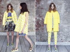 MSGM Resort 2014 - loving the yellow!!