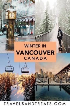 Top things to do in Vancouver in winter. This Vancouver winter itinerary also shares holiday events if you are visiting Vancouver in December. Vancouver Winter, Visit Vancouver, Vancouver Travel, Seattle Travel, Vancouver British Columbia, Alberta Canada, Canadian Travel, Canadian Rockies, Canadian Food