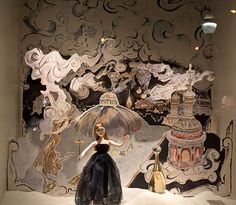 Dior Christmas Windows at The Printemps | F.TAPE | Fashion Directory