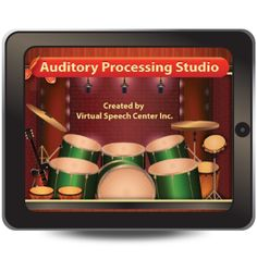 This research-based app implements the bottom-top approach to treatment of auditory processing disorders and focuses on improving auditory processing through auditory discrimination, auditory closure, and phonological awareness activities.   http://www.virtualspeechcenter.com/Styles/images/powerful/auditory_processing.png