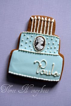 Cameo Cake Cookie