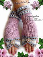 Tina's handicraft : 10 designs for gloves