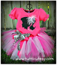 Barbie Tutu Diva Outfit by tutticutesytutus on Etsy