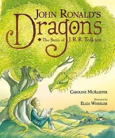 """Read """"John Ronald's Dragons: The Story of J. Tolkien"""" by Caroline McAlister available from Rakuten Kobo. A captivating picture book biography of a boy who imagined a world full of dragons and grew up to be beloved author J. Tolkien, Book Finder, Beautiful Stories, Stories For Kids, Narnia, Book Lists, Nonfiction, New Books, Childrens Books"""