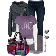 Outfit - love the bag!