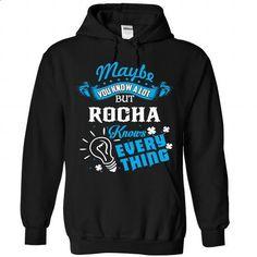 ROCHA - #kids tee #sweater design. CHECK PRICE => https://www.sunfrog.com/Camping/ROCHA-Black-87814388-Hoodie.html?68278