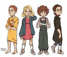Eleven, El, Jane Hopper and  Jane I'M LOVE !!!!           Love YOU