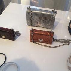 Dior Metallic Diorama Bags - Pre-Fall 2015